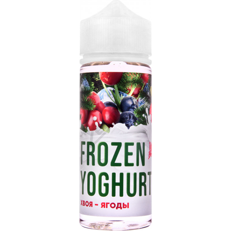 FROZEN YOGHURT (Ice Boost) - Хвоя-Ягоды 120мл